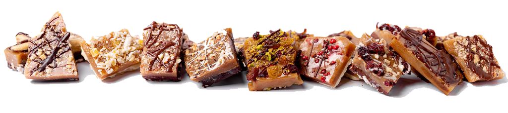 Our Toffee Flavors at Cache Toffee Collection
