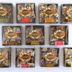 Cache Toffee Collection Flavors
