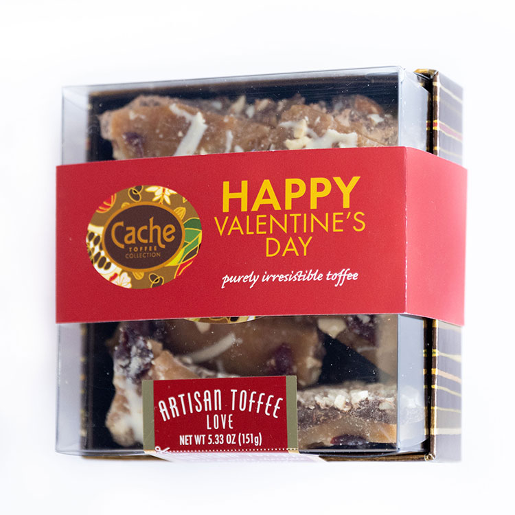 Cache Toffee of the Month Club February Love